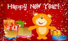 Funny Kids New Year Cards