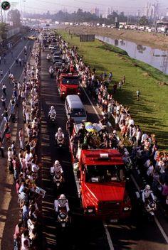 Ayrton Senna's funeral