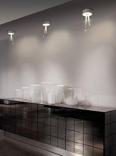 Basic Bathroom Strip Wall Lamp Basic Strip Light Artemide Sale - Bathroom strip light fixtures