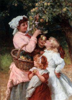 Яблоки на картинах: melanyja