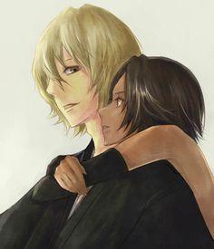 Yoruichi and Urahara