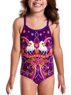 Funkita Unicorn Magic Toddler Girls One Piece Swimsuit