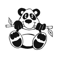 Mothers day coloring page of momma and baby panda bears you can print out this mothers day - Panda pour coloriage ...
