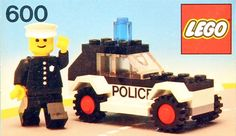 Lego Police Car Colouring Pages Car Picture Lego Projects, Projects For Kids, Lego Police Car, Lego Technic Sets, Lego Boxes, Lego Club, Lego Christmas, Cars Coloring Pages, Vintage Lego