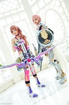 The Farron Sisters; Lightning and Serah  -Final Fantasy XIII-2