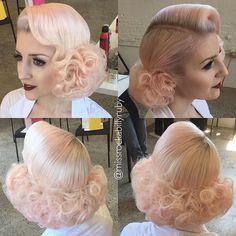 Hair - Haare #womensfashionretrohair