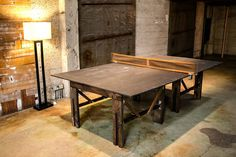 Rustic Ping Pong Table