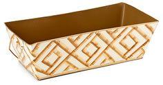 "15"" Catchall, Bamboo Cream | Downstairs | One Kings Lane"
