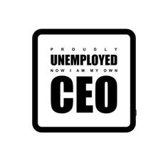 "Saatchi Art Artist Not Normal; New Media, ""UNEMPLOYED CEO"" #art"
