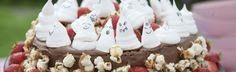 Sjokoladekake med spøkelser og digge saker