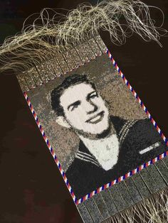 The Thankful Generations Project is my unique way of expressing gratitude to those who serve or have served in the U. military through the unique art of beaded tapestries Loom Beading, Unique Art, Wwii, Thankful, Tapestry, Beads, Projects, O Beads, Tapestries