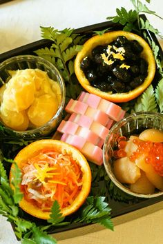 Osechi is a beautiful arrangement of specially prepared New Year's day celebration foo...