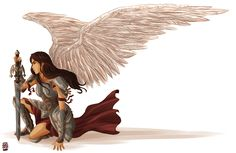 Aella. Orklouise and Sky elf = bad news for bad guys. If she was in a novel, of course.