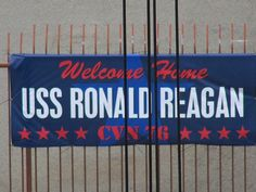 USS Ronald Reagan - CVN 76 - Welcome Home - San Diego 2011
