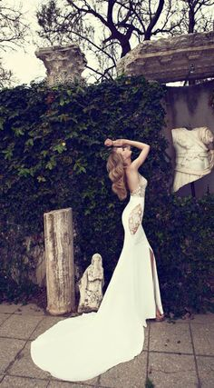 Wedding Dresses by Simijan Bozaglo 2013 | bellethemagazine.com