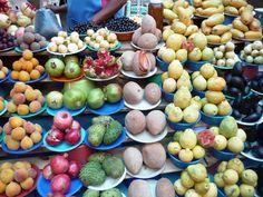 Fruta en el mercado de Malinalco.