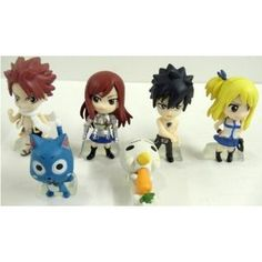 Fairy Tail 6 Piece Figure Set Featuring Natsu Dragneel, Happy, Ezra Scarlet, Gray Fullbuster, Lucy Heartfilia, and Pue (A.K.A. Nokora) Figures Fairy Tail http://www.amazon.co.uk/dp/B00BMK0YBM/ref=cm_sw_r_pi_dp_exltub0CJCXKF
