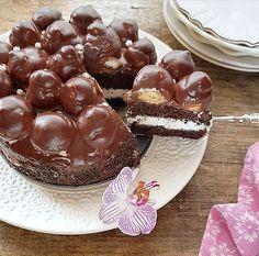 Bulgarian Desserts, Bulgarian Recipes, Italian Desserts, Fancy Desserts, Just Desserts, Delicious Desserts, Yummy Food, Chocolate Torte, Chocolate Desserts