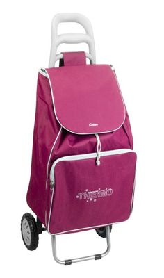 Metaltex Krokus Shopping Trolley, 50 Litre Bag, Multi Coloured, Large