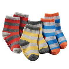 3-Pack Striped Socks