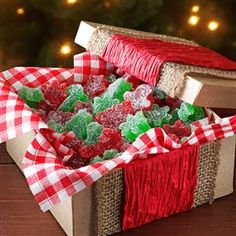 20 Recipes for Homemade Christmas Candy - For a special holiday treat, make homemade versions of your favorite Christmas candy like peanut butter cups, fudge, candy canes, marshmallows, caramels, truffles and peppermint taffy with help from these sweet recipes.