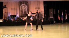 ILHC 2012 - Lindy Hop Pro-Am - Laura Glaess & Dominique Pomeroy