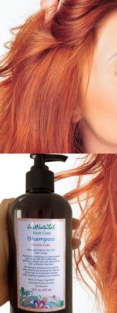 This is my favorite shampoo. I love this company and have bought several things from them. They make amazing products!!! Everything works great!!! After using this color-care shampoo and conditioner my hair became much thicker and healthier looking with a nice shine!!! I am definitely a just natural believer!