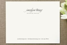 Circular Business Stationery Cards by nocciola design at minted.com