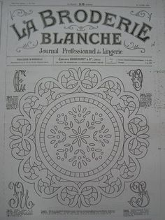 ru / Фото - La Broderie Blanche - bird-of-heart Peacock Embroidery Designs, Cutwork Embroidery, Embroidery Stitches, Hand Quilting Patterns, Machine Embroidery Patterns, Lace Patterns, Lace Painting, Parchment Craft, Quilling Patterns