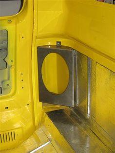 73-87 Cab Corner 6x9 Speaker Brackets