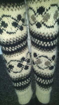 my new knit pants