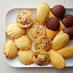 Madeleines and French Almond Cakes | Repin this during the month of May 2014 for the chance to win five boxes of Madeleines!