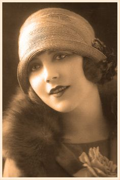"""Jessie loves stylish cloche hats, but she couldn't wear one until she cut her hair in a bob. Cloche hats just didn't """"work"""" unless your hair had been bobbed."""