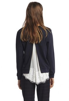 Sweat TWILL MARINE - Sweat Femme - Claudie Pierlot