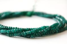 50% off on Natural Green Emerald Quartz 4 mm Faceted Rondelle beads Strand length 14.5 inches by colorvilla on Etsy