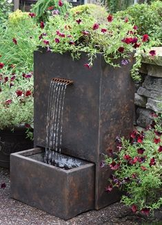 Buy Tranquil Decor Trinity Fountain and more pond fountains. Pond Warehouse has all the pond and water feature supplies you need! Garden Fountains Outdoor, Patio Fountain, Fountain Design, Indoor Water Fountains, Indoor Fountain, Pond Fountains, Fountain Ideas, Outdoor Waterfall Fountain, Fountains For Sale