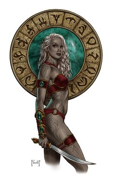 "elfgirls: ""Justahl by Mitch Foust """