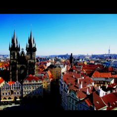 Prague, Czech Republic. Someday I will go there to see what my roots are all about!