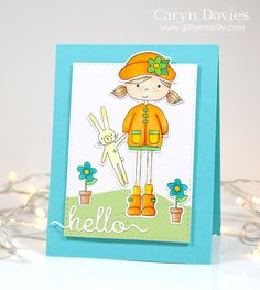Hop To It with Simon Says Stamp. #SSSFAVE.  www.glittermesilly.com