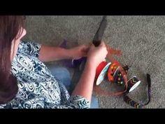 Jeanie  crafty mom  how to make a multi ribbon bow - YouTube