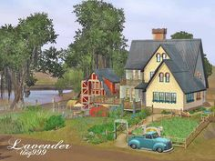 Mod The Sims - Lavender - a Sims3 house but want to build as Sims2