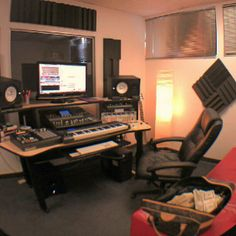 Home. Half of #ListenUp was recorded here!