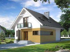 Lilia 3 (104,9 m2) to kolejna już wersja projektu Lilia ze zmienionym układem funkcjonalnym. Pełna prezentacja projektu znajduje się na stronie: https://www.domywstylu.pl/projekt-domu-lilia_3.php. #projekty #domy #projekt #lilia3 #projekty na wąską działkę #projekty domów #projekty gotowe #domywstylu #mtmstyl #home #houses #style #design #architektura
