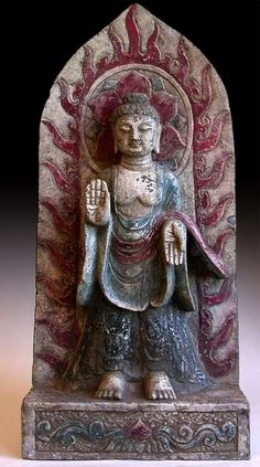 Buddha from China, circa Ming Dynasty, 1368-1644