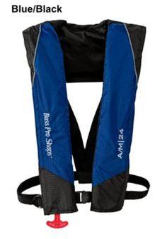 Bass Pro Shops Auto/Manual Inflatable Vest - $89.97