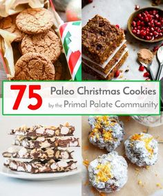 75 Paleo Christmas Cookie Recipes - Primal Palate | Paleo Recipes