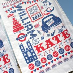 William and Kate tea towel. So very British, so very perfect for my kitchen!