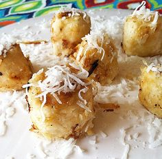 #Healthy #vegan Coconut Banana Fritters! #paleo #dessert #bananas #fruit #clean eating