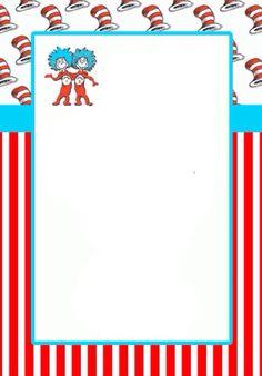 Airon 1st Bday on Pinterest Dr Seuss Fun Games