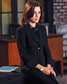 SEASON 5, EPISODE 9: ESCADA JACKET, ETRO BLOUSE, AND GUCCI TROUSERS - The Good Wife Season 5 Outfits, Explained by Costume Designer Daniel L...